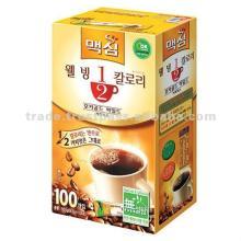 Maxim 1/2 calorie mocha mix coffee instant 100pcs