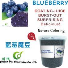 Taiwan bubble tea Blueberry coating juice boba