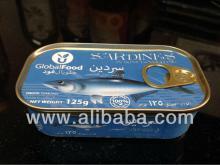 Canned Sardines in Oil - Sardines a l'huile - Sardinas enlatadas en aceite - Konservierte Sardin