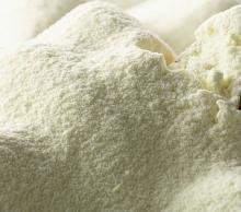 Whole skimmed milk powder