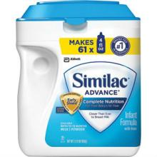 Similac Advance EarlyShield Infant Formula 34 oz