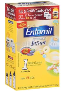 Enfamil infant formula  powder  1490g from Mead Johnson,  USA