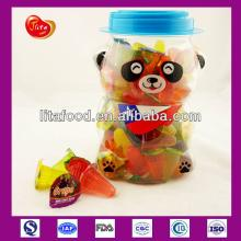 Jelly OEM Service for Mini Jelly Fruit Jelly Pudding in 100pcs Panda Jar