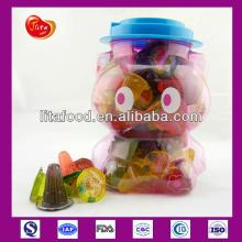 Jelly OEM Service for Mini Jelly Fruit Jelly Pudding in 100pcs Kitty Jar