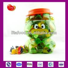 China Jelly Distributor for Fruit Jelly Pudding in 100pcs Cow Jar