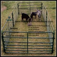hot galvanized metal portable livestock  fence  panel