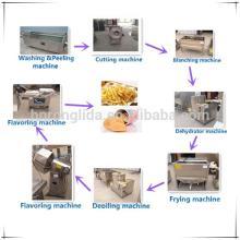 Potato chips production line/automatic potato chips making machine
