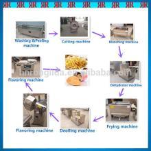 Fresh potato chips making machine/potato chips production line