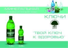 "Natural mineral water ""Kluchi"""