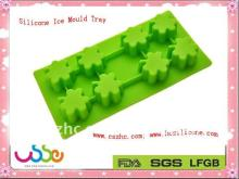 Silicone Ice Mould Tray of Flower shape (UHAF001)