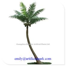 China fake coconut tree home/playground/beach/swimming pool  outdoor  decoration UV protective artific