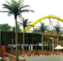 Outdoor artificial coconut tree use for hotel