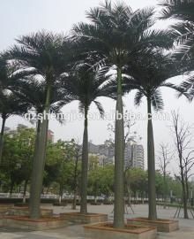 SJAZZY High quality big fake decorative coconut tree ,artificial coconut palm tree