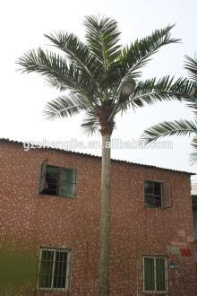 SJAZZY831 outdoor decorative coconut tree , high quality artificial coconut tree