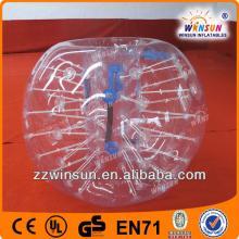 EN14960 approved football sport soccer bubble, bubble football, crazy loopyballs,human bubble ball