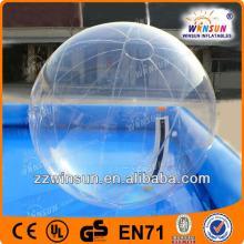 Giant CE certificate bubble ball walk water