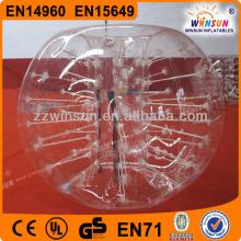 Hot sale whosale TPU funny bubble ball for football