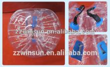 EN14960 approved human body zorb inflatable bubble ball for new football sports