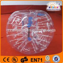 Durable TPU human body zorb football inflatable soccer bubble