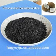 8x16 mesh 850mg/g iodine number Coconut shell activated carbon for water treatment