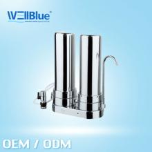 2014 Ceramic water filters L-DF208b ( stainless steel ,ceramic filter+coconut active carbon )
