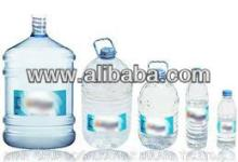 Bottled pure drinking water