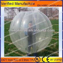 HOT!!PVC/TPU bubble football,customized your own soccer ball