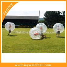 Outdoor Bubble Soccer Body / Zorb Ball Soccer Inflatable Aqua Bola On Water