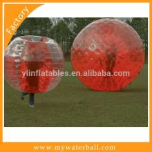 Red Bumper Ball or Football Bubble and  ZORB  BALL For  Sale