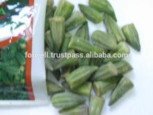 Frozen Okra ( Zero - one - excellent - fine ...) crops 2014