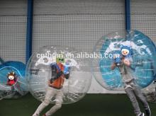 CE  PVC / TPU Crazy  Bouncing  Loopy  Ball , bubble foot ball  suit