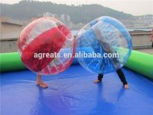 Lower price body zorb ball, inflatable bumper ball, bubble football for 2014 hot sale