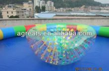 Water Cocoon Zorb Ball factory, Coconut Ball Inflatable G7007