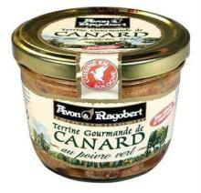 Terrine Gourmande de CANARD - au poivre vert