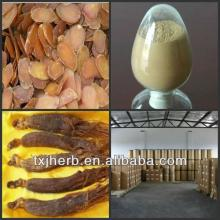 Factory supply organic  korean   red   ginseng  extract tea powder ginsenoside powder
