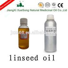 100% pure cold pressed raw crude linseed oil ,bulk linseed oil