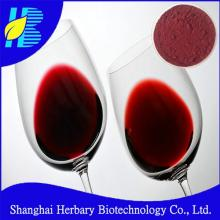 High quality red wine extract 25% polyphenols
