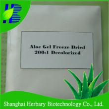 200:1 100:1 aloe vera freeze dried powder with GMP& ISO9001 certificatied