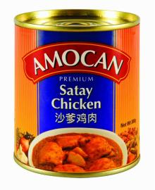 Amocan Canned Satay Chicken