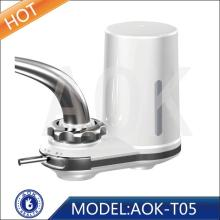 Ozone faucet water filter with super filtration system