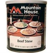 Mountain house hearty beef stew #10 can