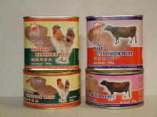 Halal Canned Beef, Chicken Luncheon Meat