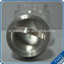 clear round candy/food/storage glass jar