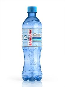 0,5 L Pure Baikal Drinking Water (aerated)