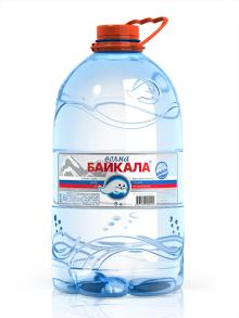 5,0 L Pure Baikal Drinking Water