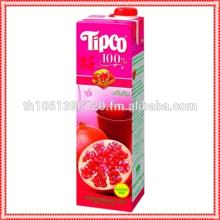 Fruit Juice Tipco Pomegranate & Mixed Fruit Juice100% 1000 ml.