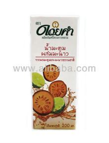fruit  juice , bael drink with  lemon   juice  100%, healthy  juice ,  pure  fruit  juice