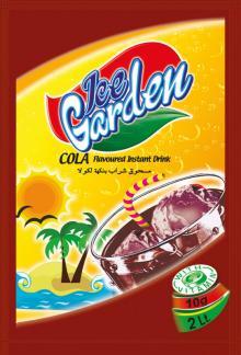 ICE GARDEN INSTANT POWDER DRINK - COLA FLAVOUR