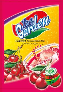 ICE GARDEN INSTANT POWDER DRINK - CHERRY FLAVOUR