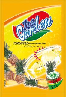ICE GARDEN INSTANT POWDER DRINK - PINEAPPLE FLAVOUR